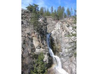Fintry Provincial Park Triple waterfall