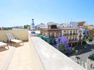 [653] Fantastic apartment with terrace in Triana