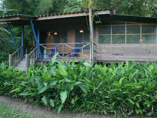 10 min drive from Domi to Cabina Guanacaste, Dominical