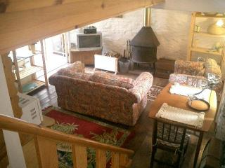 Staying in the Hay Barn, Machynlleth