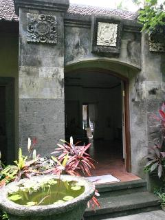 Entrance of the Villa