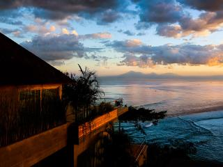 Sunset over The Luxe Bali