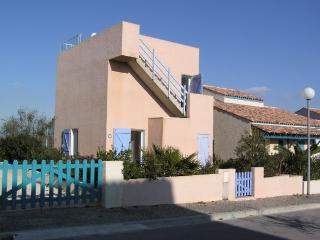Ferienhaus mit Meerblick und großer Dachterrasse, Aude