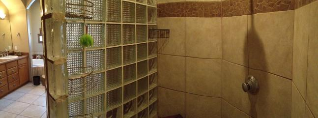 Large Separate Master Bath Room Shower
