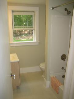 Full bathroom with tub/shower