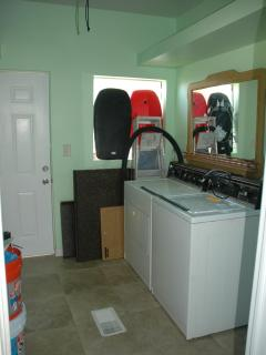 Washer/Dryer/Storage Room