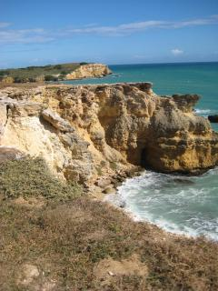 Cliffs at Cabo Rojo Lighthouse
