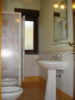 Bathroom with shower/WC