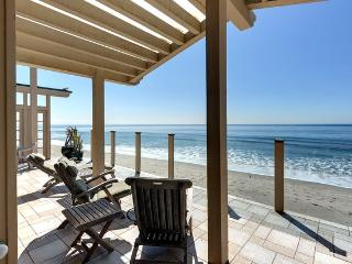 The weather is warm and the water inviting on Malibu Beach!