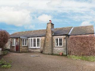 CAPPLE BANK FARM COTTAGE, stone-built cottage, open plan living area, WiFi, in