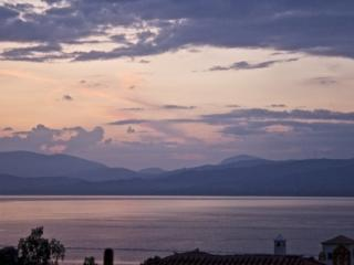 Gorgeous Aegean Sunset view from the third floor terrace