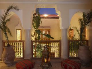 Riad El Youssoufi in the old medina of Marrakech, Marraquexe
