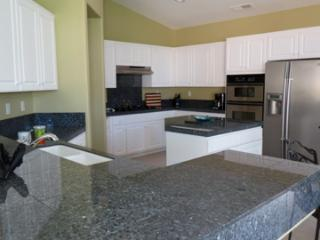 Kitchen with 5 burner Gas stove  Built in wine cooler- lots of space