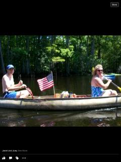 Canoeing July 4th