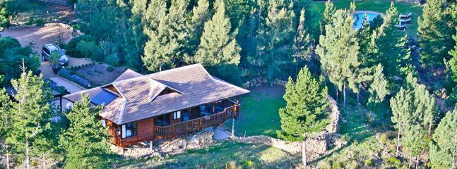 Aerial view Phezulu Lodge