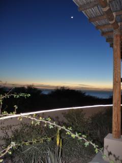 Patio looking toward Sea of Cortez