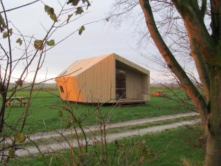 Two special ecolodges near the Wadden Sea, Groningen