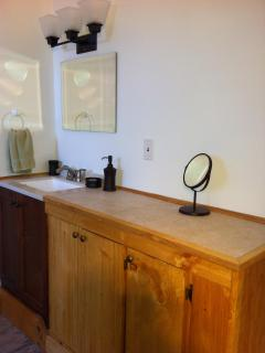 upstairs vanity room
