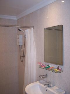 Good Size bathroom with Walk-in Shower