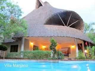 Villa Manjano in Kenya for your African adventure, Diani Beach