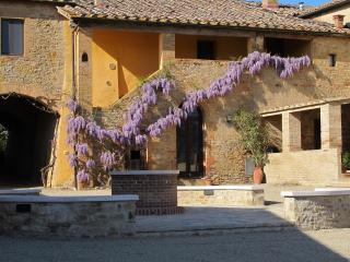 Idyllic Tuscan Farm-House, close to Montalcino, Buonconvento