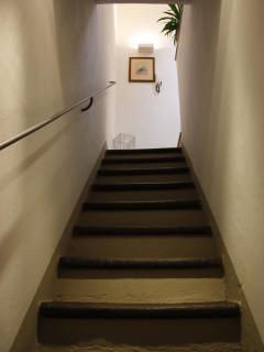 Scala interna all'appartamento