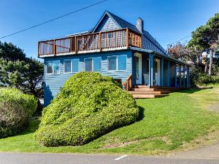 Beautiful, dog-friendly home with ocean views and huge private deck!