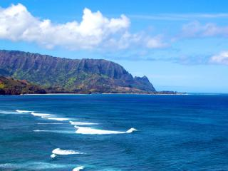 Breathtaking Oceanfront Kauai Vacation Rental, Princeville