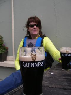 Relax with a Guinness