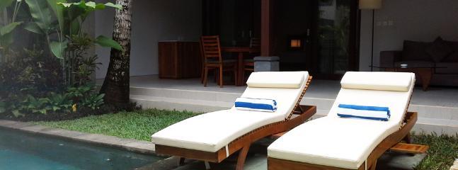 One Bedroom Private Pool Villa Private Pool Area
