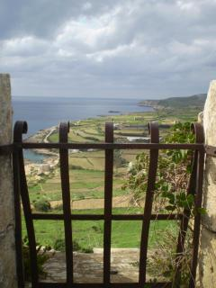 View from historic bastions