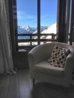 Beautiful flat with balcony & view - Alpe d'Huez