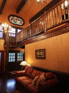 'The Barn' view to loft master suite