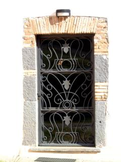 Details matter! One of the nice windows - wrought iron.