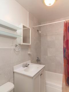 Bathroom 2 includes towels