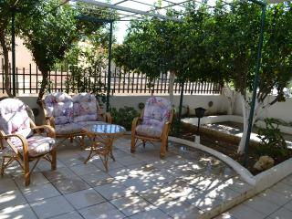 APARTMENT NEAR THE BEACH WITH GARDEN, Agia Pelagia