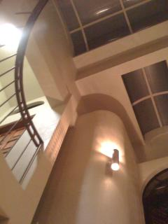 Architectural Detail inside the 4 stories of rooms