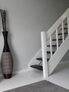 Staircase to Bedrooms upstairs