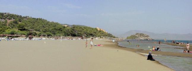 Sarigerme golden sand beach