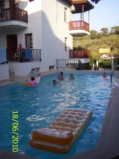 guests in the swimming pool