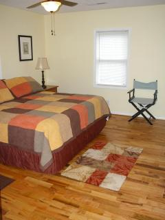 Bedroom #1 (master) --King-sized bed