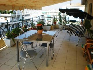 3 bedroom apartment large balcony Athens center