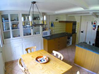 The kitchen with dining area
