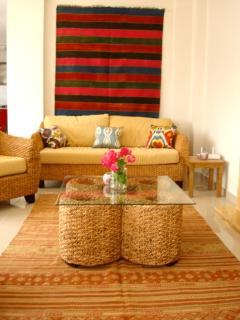 comfortable and modern lounge