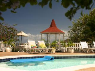 Villa Capri in St. Lucia Pool and Gazebo