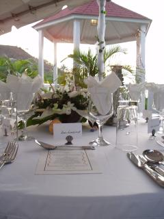 Villa Capri in St. Lucia wedding gazebo