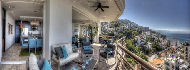 45'-long terrace