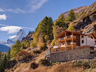 Chalet Gemini Mountain Exposure Zermatt - Serviced,independent,Sauna,Hot Tub