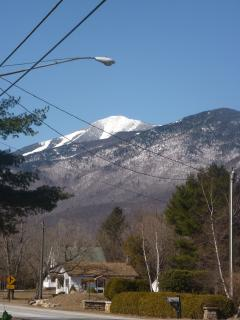 View of Whiteface from the Front Door