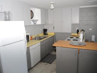 Fully furnished kitchen with new fridge, stove and dishwasher (installed 2013)